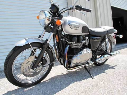 2007 Triumph Bonneville for sale at Auto Marques Inc in Sarasota FL