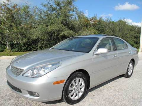 2002 Lexus ES 300 for sale at Auto Marques Inc in Sarasota FL