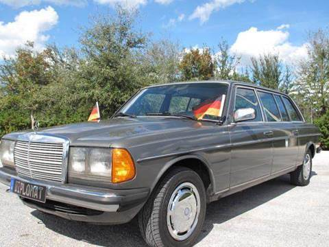 1984 Mercedes-Benz 300 D for sale at Auto Marques Inc in Sarasota FL