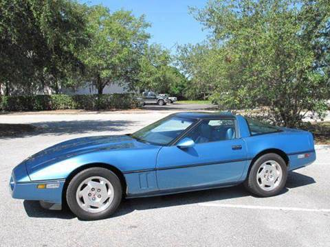 1988 Chevrolet Corvette for sale at Auto Marques Inc in Sarasota FL