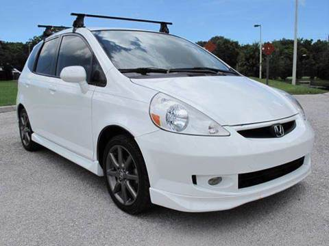 2007 Honda Fit for sale at Auto Marques Inc in Sarasota FL