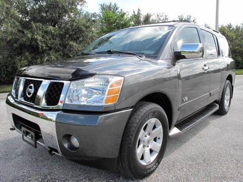 2005 Nissan Armada for sale at Auto Marques Inc in Sarasota FL