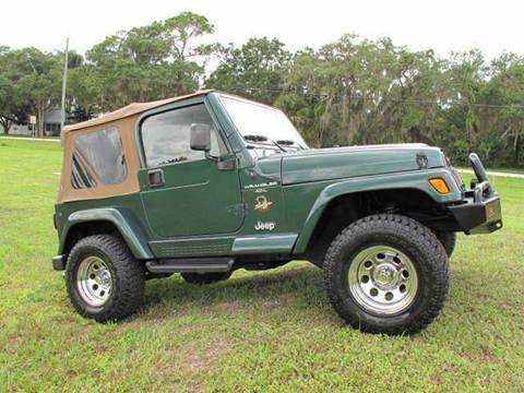 1999 Jeep Wrangler for sale at Auto Marques Inc in Sarasota FL