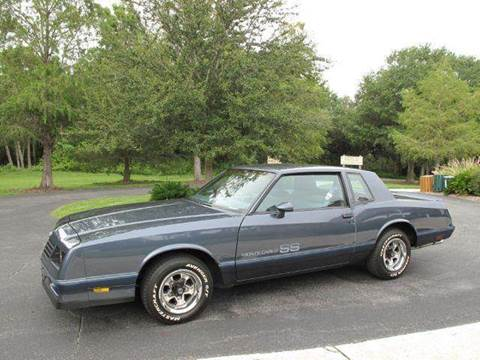1984 Chevrolet Monte Carlo for sale at Auto Marques Inc in Sarasota FL
