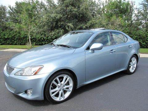 2007 Lexus IS 250 for sale at Auto Marques Inc in Sarasota FL