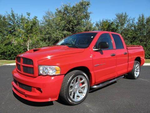 2005 Dodge Ram Pickup 1500 SRT-10 for sale at Auto Marques Inc in Sarasota FL