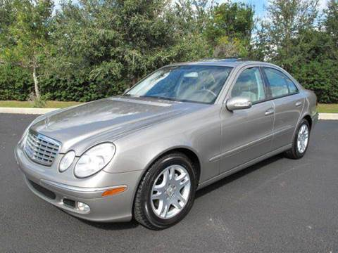 2003 Mercedes-Benz E-Class for sale at Auto Marques Inc in Sarasota FL