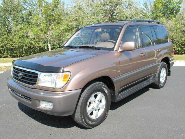 1999 Toyota Land Cruiser for sale at Auto Marques Inc in Sarasota FL