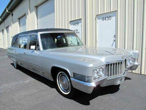 1970 Cadillac Hearse for sale at Auto Marques Inc in Sarasota FL