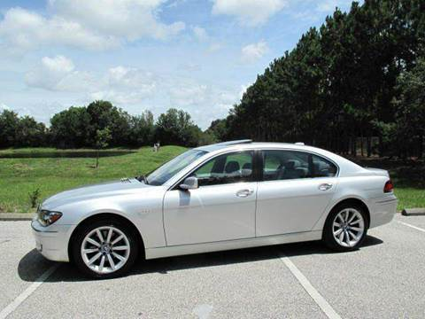 2008 BMW 7 Series for sale at Auto Marques Inc in Sarasota FL