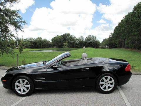 2003 Mercedes-Benz SL-Class for sale at Auto Marques Inc in Sarasota FL