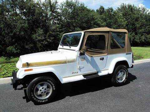 1988 Jeep Wrangler for sale at Auto Marques Inc in Sarasota FL