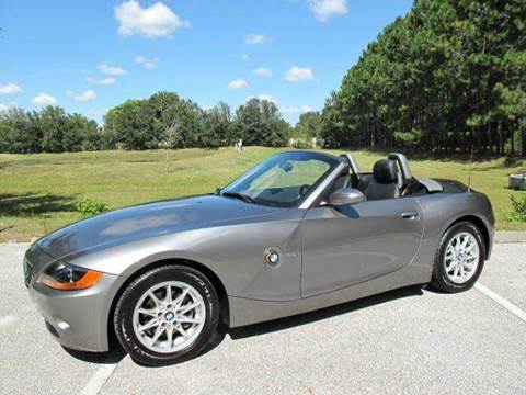 2003 BMW Z4 for sale at Auto Marques Inc in Sarasota FL