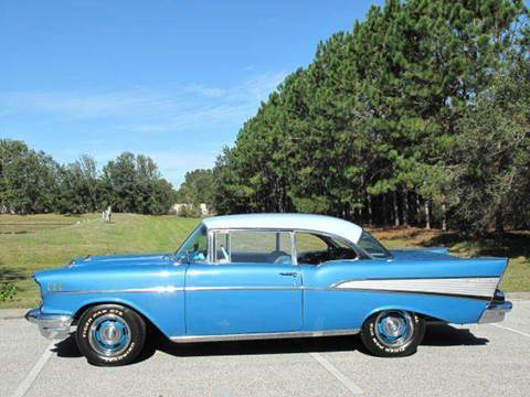 1957 Chevrolet Bel Air for sale at Auto Marques Inc in Sarasota FL