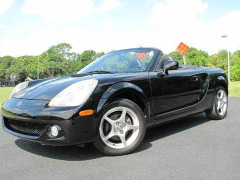 2003 Toyota MR2 Spyder for sale at Auto Marques Inc in Sarasota FL