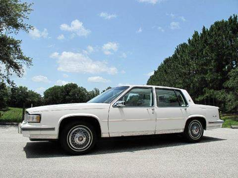 1987 Cadillac DeVille for sale at Auto Marques Inc in Sarasota FL