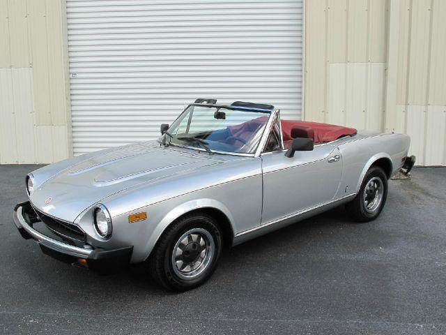 1980 FIAT 124 Spider for sale at Auto Marques Inc in Sarasota FL