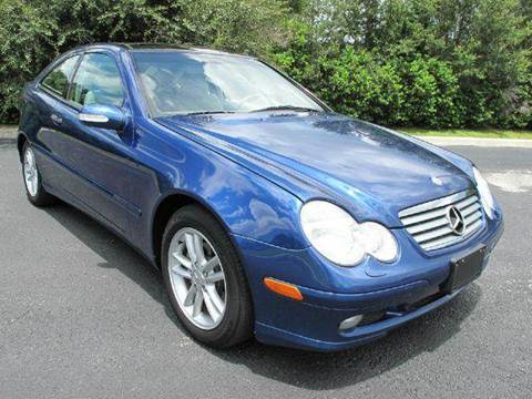2003 Mercedes-Benz C-Class for sale at Auto Marques Inc in Sarasota FL