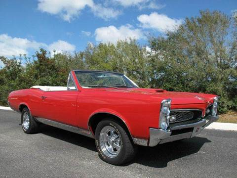 1967 Pontiac GTO for sale at Auto Marques Inc in Sarasota FL