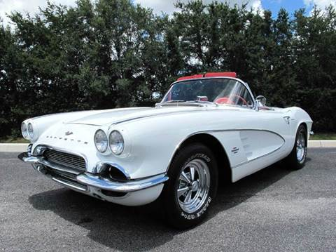 1961 Chevrolet Corvette for sale at Auto Marques Inc in Sarasota FL
