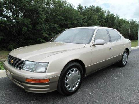 1997 Lexus LS 400 for sale at Auto Marques Inc in Sarasota FL