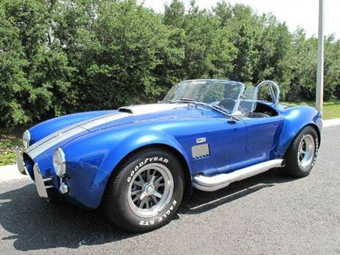 1965 Shelby Cobra for sale at Auto Marques Inc in Sarasota FL