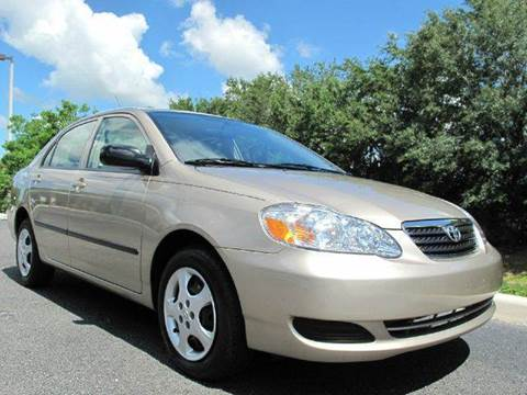 2008 Toyota Corolla for sale at Auto Marques Inc in Sarasota FL