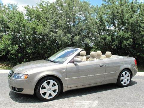 2005 Audi A4 for sale at Auto Marques Inc in Sarasota FL