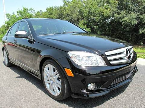 2009 Mercedes-Benz C-Class for sale at Auto Marques Inc in Sarasota FL