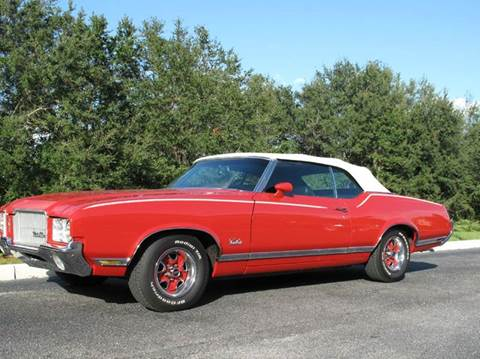 1971 Oldsmobile Cutlass Supreme for sale at Auto Marques Inc in Sarasota FL