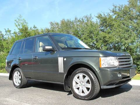 2006 Land Rover Range Rover for sale at Auto Marques Inc in Sarasota FL