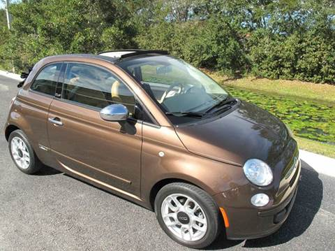 2012 FIAT 500c for sale at Auto Marques Inc in Sarasota FL