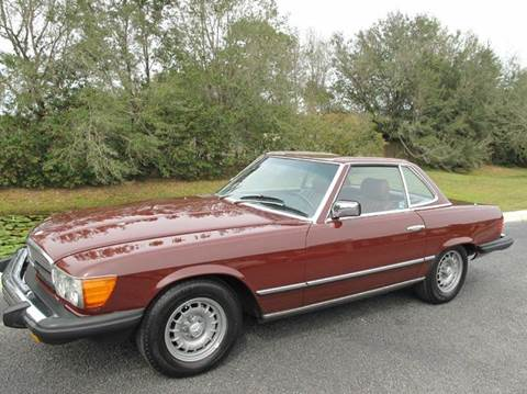 1983 Mercedes-Benz 380-Class for sale at Auto Marques Inc in Sarasota FL