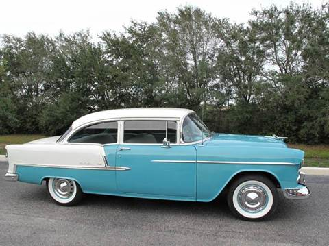1955 Chevrolet Bel Air for sale at Auto Marques Inc in Sarasota FL