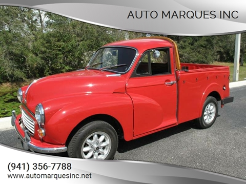 1967 MORRIS MINOR for sale at Auto Marques Inc in Sarasota FL