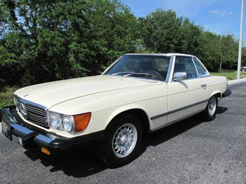 1982 Mercedes-Benz 380-Class for sale at Auto Marques Inc in Sarasota FL