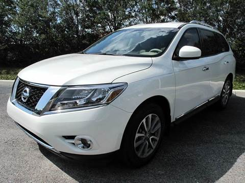 2015 Nissan Pathfinder for sale at Auto Marques Inc in Sarasota FL