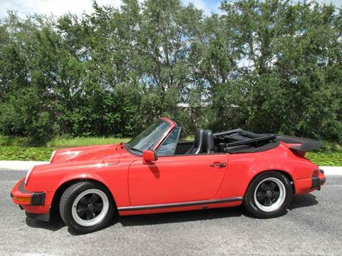 1988 Porsche 911 for sale at Auto Marques Inc in Sarasota FL