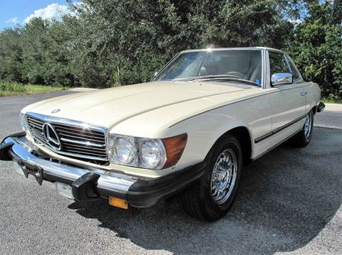 1984 Mercedes-Benz 380-Class for sale at Auto Marques Inc in Sarasota FL