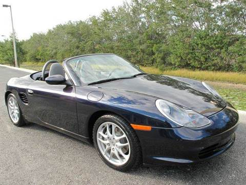 2004 Porsche Boxster for sale at Auto Marques Inc in Sarasota FL