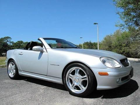 2002 Mercedes-Benz SLK for sale at Auto Marques Inc in Sarasota FL