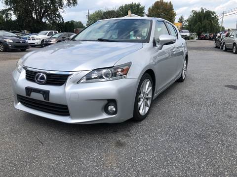 2013 Lexus CT 200h for sale at Sam's Auto in Akron PA