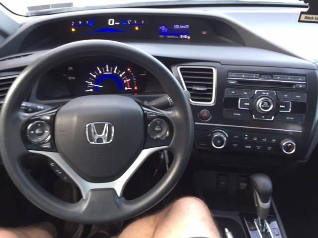 2013 Honda Civic LX 4dr Sedan 5A - Akron PA