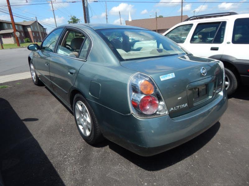 2002 Nissan Altima 2.5 4dr Sedan - Madison TN