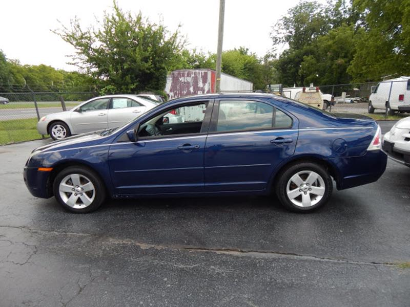 2007 Ford Fusion I-4 SE 4dr Sedan - Madison TN