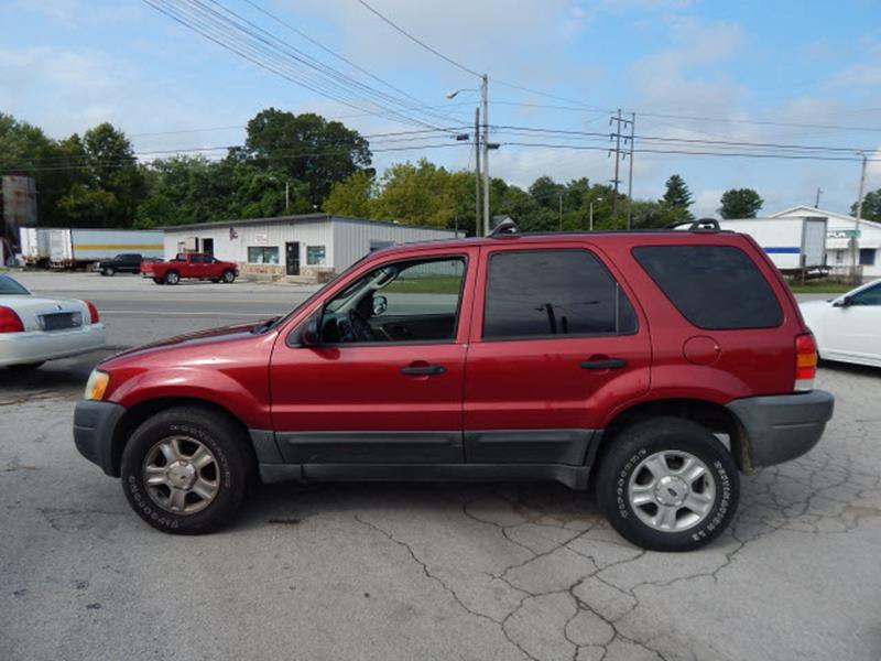 2004 Ford Escape XLT 4WD 4dr SUV - Madison TN