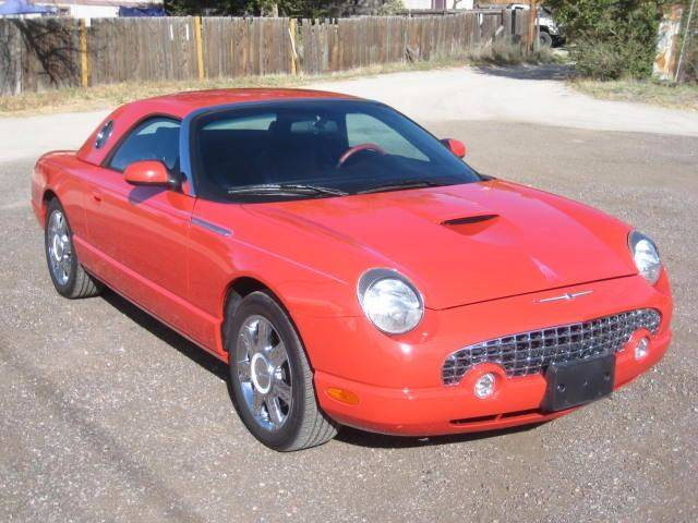 2005 ford thunderbird deluxe 2dr convertible in kiowa co hoo motors 2005 ford thunderbird deluxe 2dr convertible kiowa co sciox Image collections