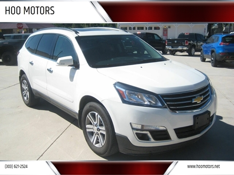 2015 Chevrolet Traverse for sale at HOO MOTORS in Kiowa CO