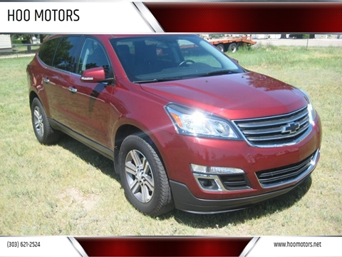 2016 Chevrolet Traverse for sale at HOO MOTORS in Kiowa CO