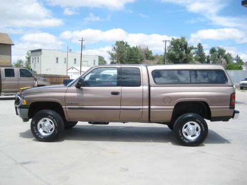 2001 Dodge Ram Pickup 2500 for sale at HOO MOTORS in Kiowa CO
